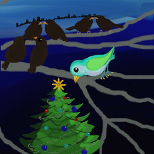 Eggbert: Weihnachtsbaum