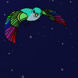 Eggbert: fliegt